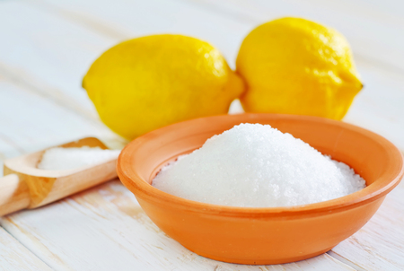 acid and lemons