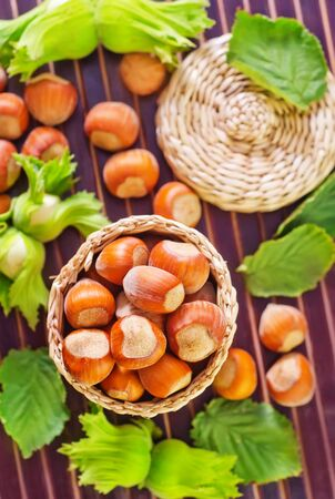 spiciness: hazelnuts Stock Photo