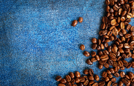 coffee beans on a table, coffee background Stok Fotoğraf - 82429169