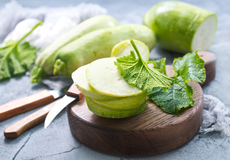 organic zucchini marrow squash vegetable close up