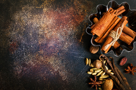 aroma spice on a table Stock Photo - 95303563
