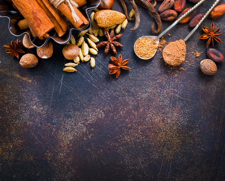 aroma spices on a table