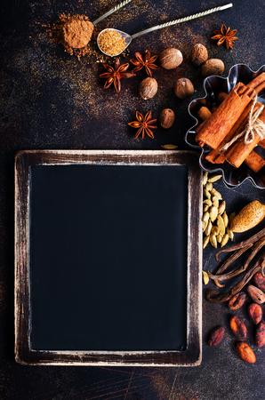 aroma spice on a table
