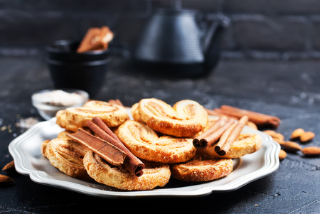 cookies with  cinnamon and sugar on plate