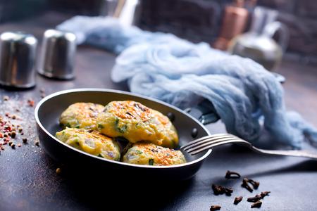chicken cutlets in pan