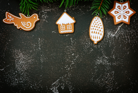 Christmas decoration on a table