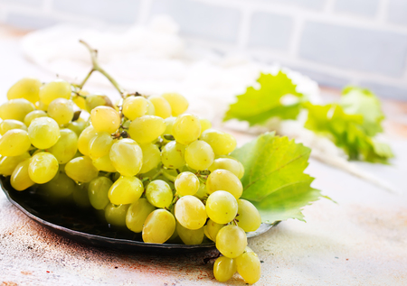 fresh grape on a table,stock photo