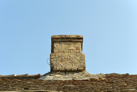Chimney of the old village house