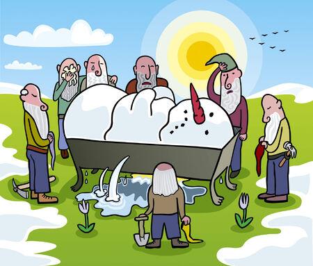 The Snow White Illustration