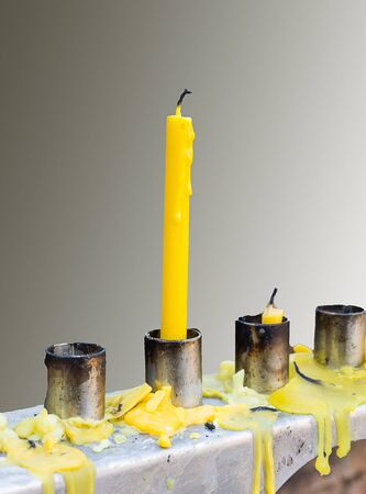 then: Then candles were extinguished
