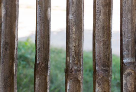 slat: Illustration of the seamless wooden fence