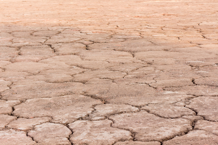 barrenness: Cracked ground,Dry land. Cracked ground background,Dry cracked ground filling the frame as background, Drought land Stock Photo