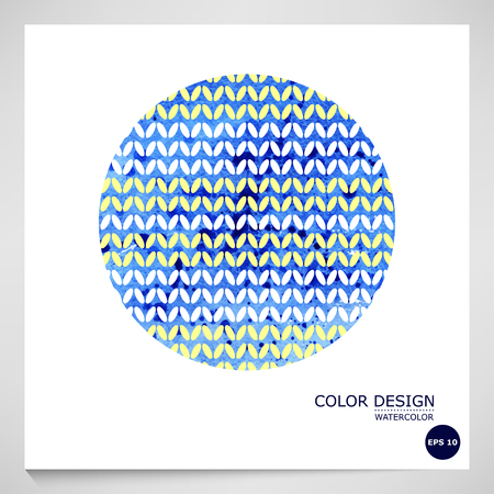 coatings: Vector Abstract blue watercolor background. Illustration