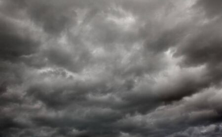 heavy gale black stormy clouds Stock Photo - 3696719