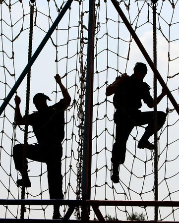 army helmet:  special troops soldiers  pass maroon berets exam
