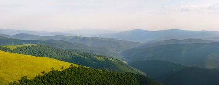 xxxl: xxxl panorama of the Carpathian mountains
