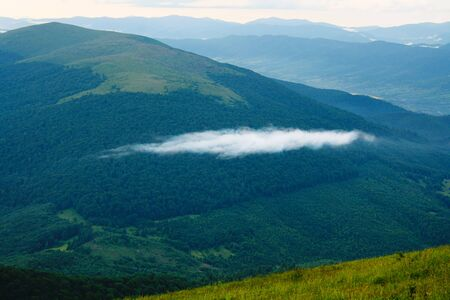 oneness: Lonely cloud in the Carpathian Mountains