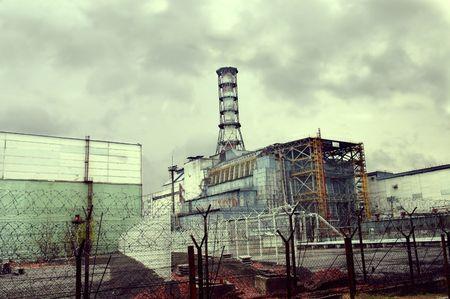Chernobyl Atomic Electric Power Station Stock Photo - 5362541