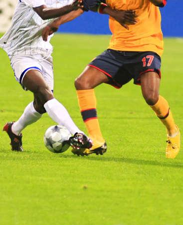 soccer match: Soccer match 4 Stock Photo
