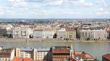 skyline of Budapest. Hungary photo