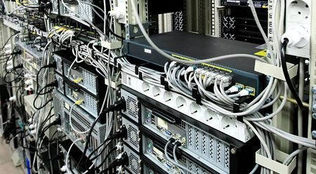 telecommunication equipment: Corporate Data Center and communications equipment