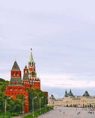 national landmark: Piazza Rossa di Mosca, Federazione russa. Riferimento nazionale. Destinazione turistica.