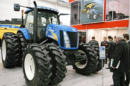 KUIV, UKRAINE - FEBRUARY 13,: 10TH Ukraine international agricultural and horyicultual exhibition on Feb 13, 2007 in Kyiv, Ukraine