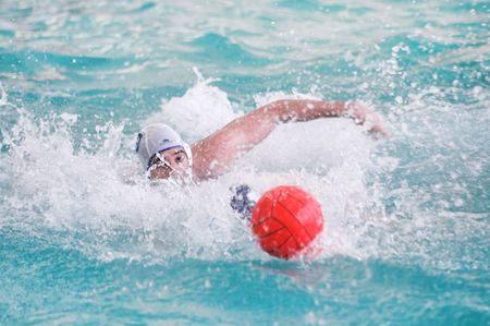 beetwen: KYIV, UKRAINE - MAY 17: Water Polo match beetwen Ukraine and Egypt national team during The III International Water Polo Tournament in Memory of Oleksiy Barkalov on May 17, 2007 in Kyiv, Ukraine