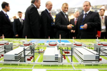 petrochemistry: KYIV, UKRAINE - SEP 24: The 6th annual international forum devoted to technologies, equipment and materials for electric-power, coal, oil and gas enterprise Fuel and Energy Complex of Ukraine: Present and Future opens on September 24, 2008 in Kyiv, Ukrain