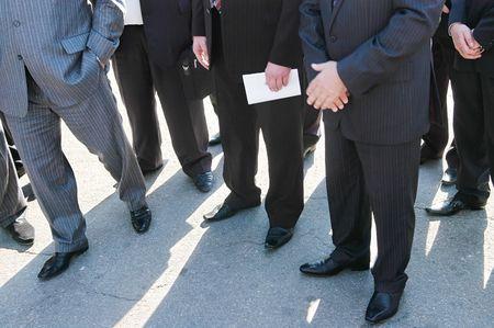Large group of businnessman photo
