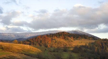 Autumn in Carpathian Mountains. Ukraine Stock Photo - 8181140