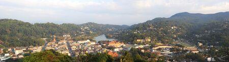 panorama of Kandy - ancient capital of Sri Lanka photo