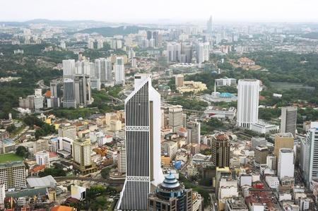 Aerial view of Kuala Lumpur  photo