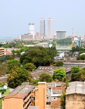 panorama of Colombo- the capital of Sri Lanka Stock Photo - 10580521