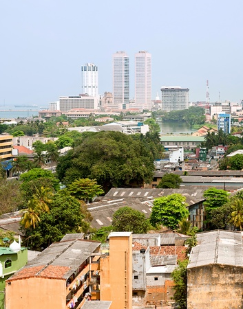 panorama of Colombo- the capital of Sri Lanka Stock Photo - 10580521