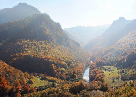 tara: Tara River Gorge.Tara River Gorge - is the longest canyon in Montenegro and Europe