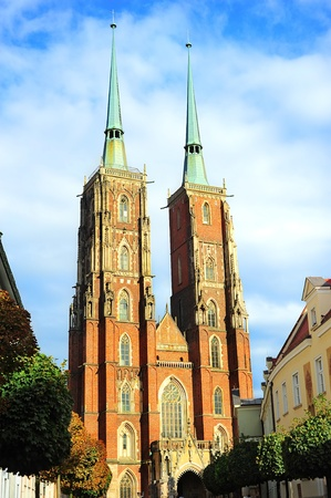 The Cathedral of St. John the Baptist in Wroclaw  photo