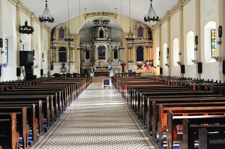 santa maria: Santa Maria Church -  UNESCO World Heritage Site in Santa Maria city,  Illocos Sur, Luzon island, Philippines