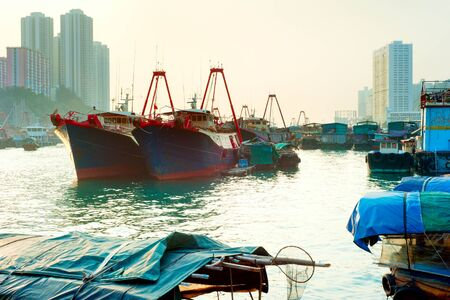 dweller: Aberdeen is famous to tourists for its floating village  Hong Kong