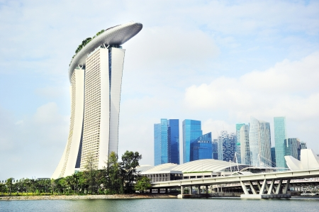 recognized: Singapore panorama   Singapore has long been recognized as one of the best cities for business Editorial