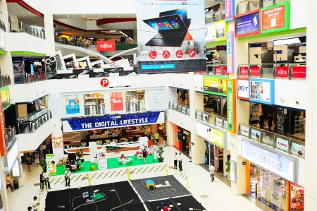 estimates: Singapore, Republic of Singapore -  March 07, 2013: Famous computer market in  Singapore. Preliminary estimates showed that 1.46 million PCs were sold in Singapore last year, which was around 10 percent more than in 2011. Editorial