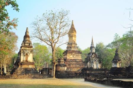 Si Satchanalai historical park , Sukhothai , Thailand photo