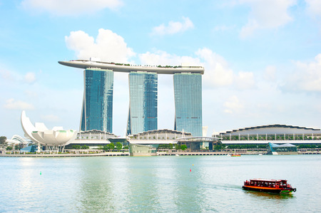 billion: Marina Bay Sands Resort in Singapore. It is billed as the worlds most expensive standalone casino property at S$8 billion Editorial
