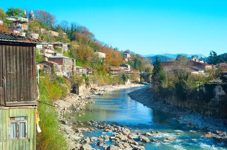 kutaisi: Kutaisi � la seconda citt� della Georgia. Kutaisi si trova lungo entrambe le rive del fiume Rioni