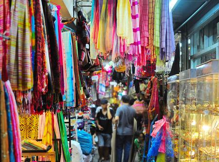 Chatuchak mercato di fine settimana a Bangkok, in Thailandia. E 'il più grande mercato in Tailandia.