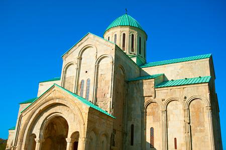 kutaisi: famous Bagrati cathedral in Kutaisi, Georgia