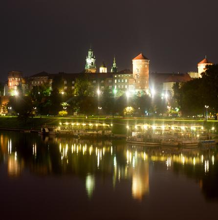 wawel: Famous medieval Wawel Castle in Krakow, Poland