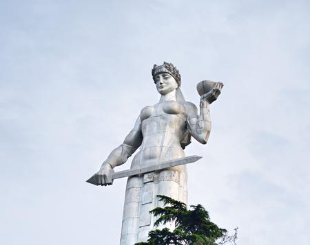 Famous Mother Georgia statue, Tbilisi