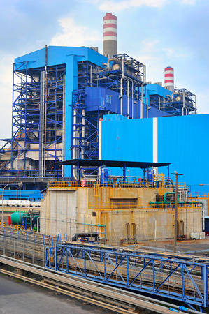 coal fired: Coal fired power plant on Java island, Indonesia