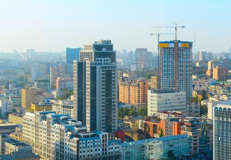kyiv: Modern Kiev architecture of a city center. Ukraine